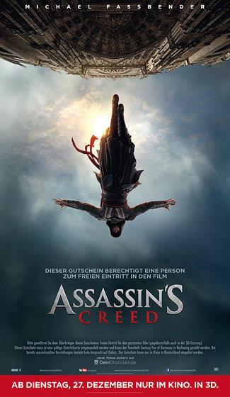 Assassin's Creed-Freikarte