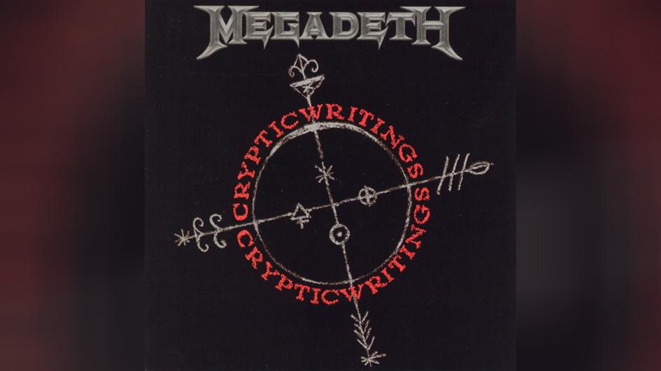 Megadeth CRYPTIC WRITING
