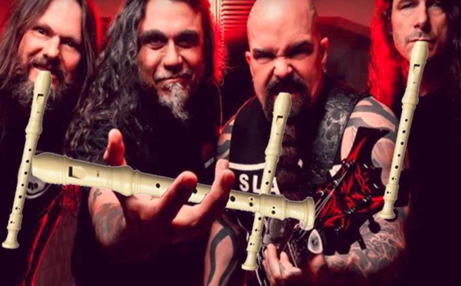 Slayer in einer eigenwilligen Cover-Version: Und wir haben jetzt Angst vor der Flöte!