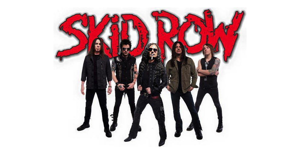 Skid Row mit ihrem nun festen Frontmann Zippy Theart.