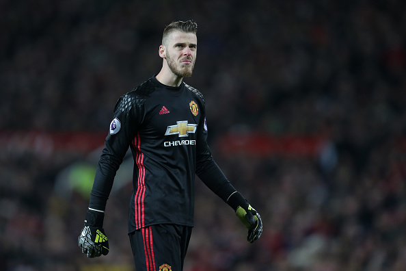 Manchester United-Torwart David De Gea