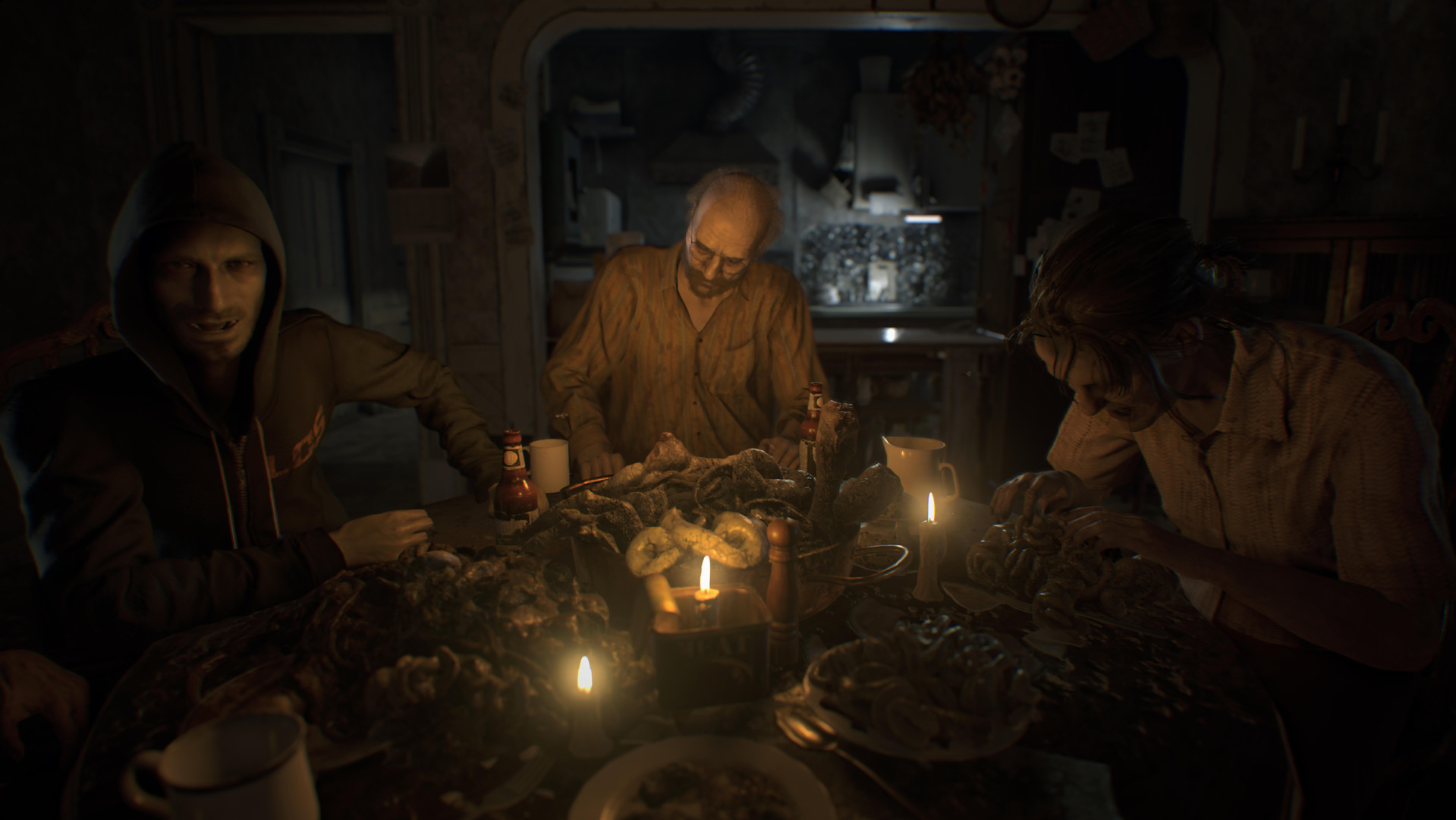Diese Szene mit der Baker-Familie weckt sofort Erinnerungen an The Texas Chainsaw Massacre