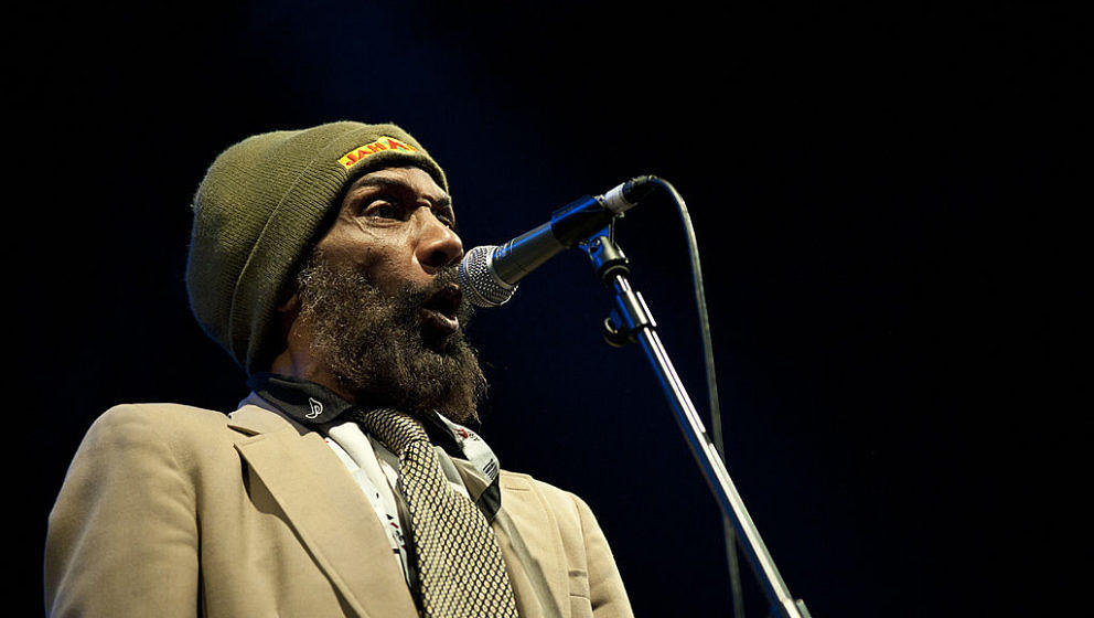 VITORIA-GASTEIZ, SPAIN - JUNE 24: H.R. of Bad Brains performs on stage during day two of Azkena Rock Festival at Recinto Mend