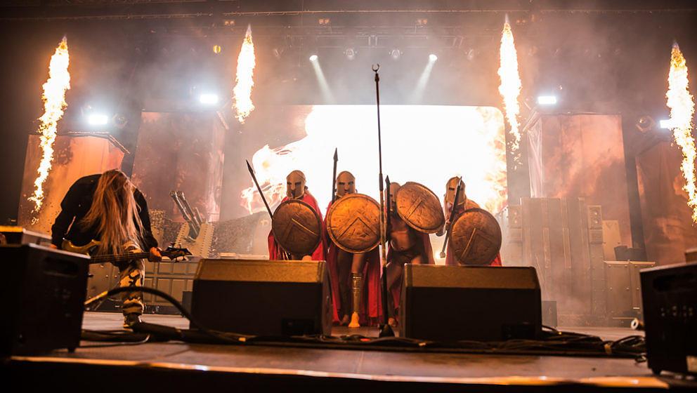 Sabaton @ Brose Arena Bamberg, 4.2.2017