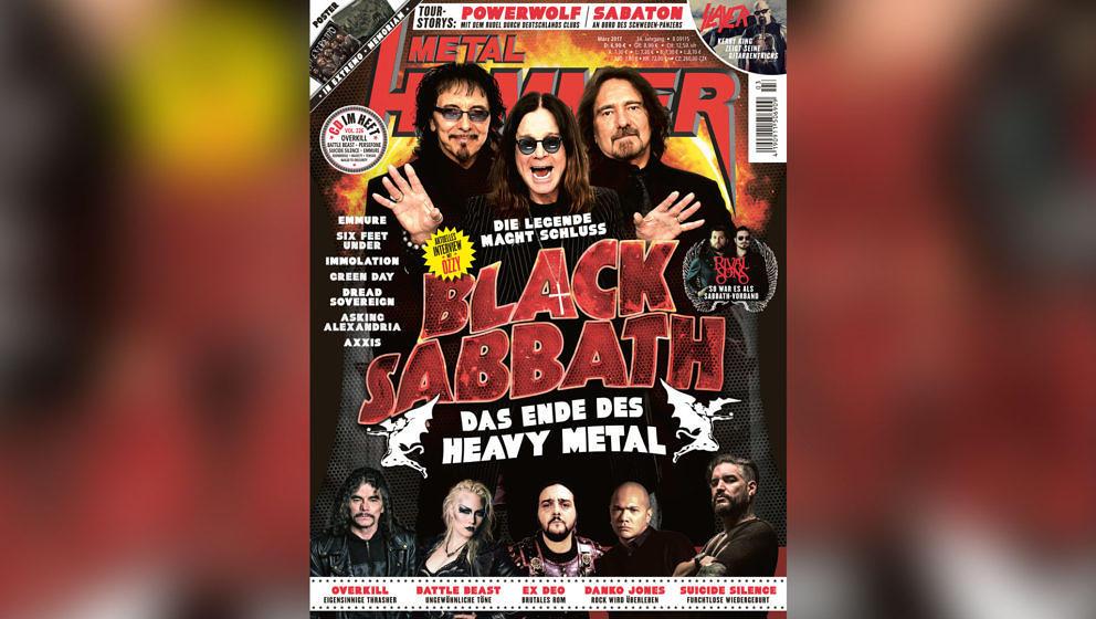 Das steckt in der März-Ausgabe 2017 vom METAL HAMMER