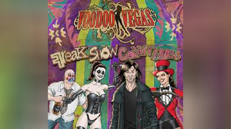Voodoo Vegas FREAK SHOW CANDY FLOSS
