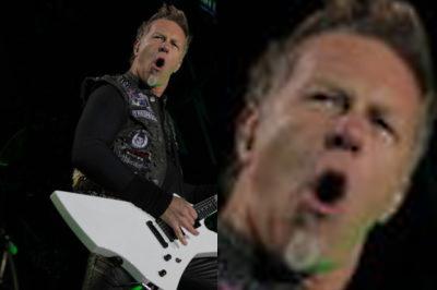 Beim Anblick dieser Plattensammlung, bekommt James Hetfield seinen Mund nicht zu!