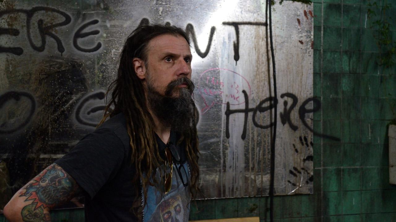 "Rob Zombie am Set von ""31 - A Rob Zombie Film"""