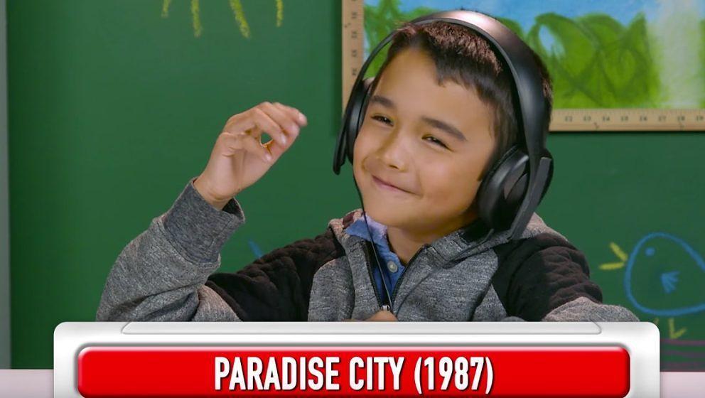 Das Paradise City-Riff kommt bei Kindern gut an