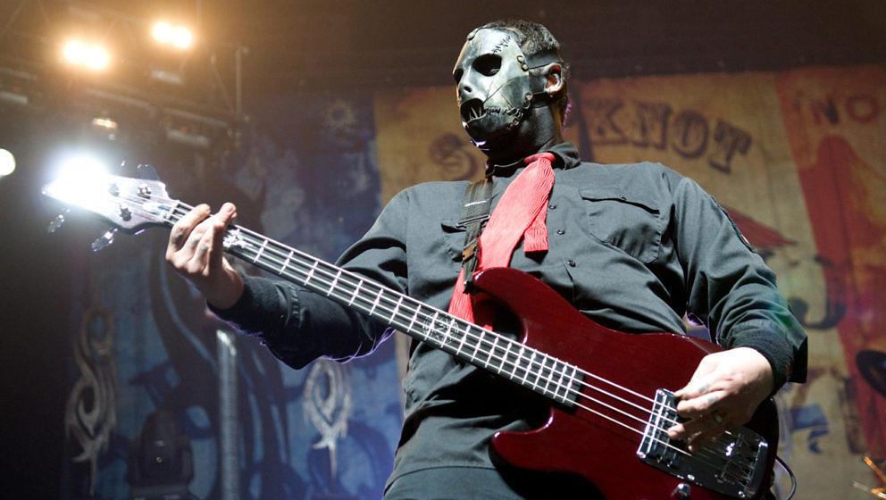 Paul Gray bei einem Slipknot-Konzert im Jahr 2009