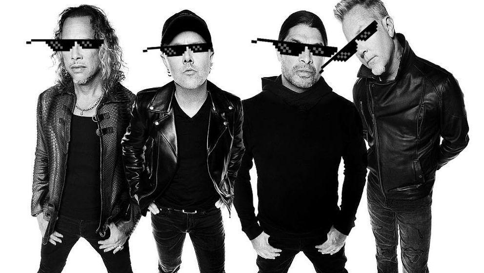 Deal with it: Metallica haben jetzt auch Hipster-Merchandise im Angebot