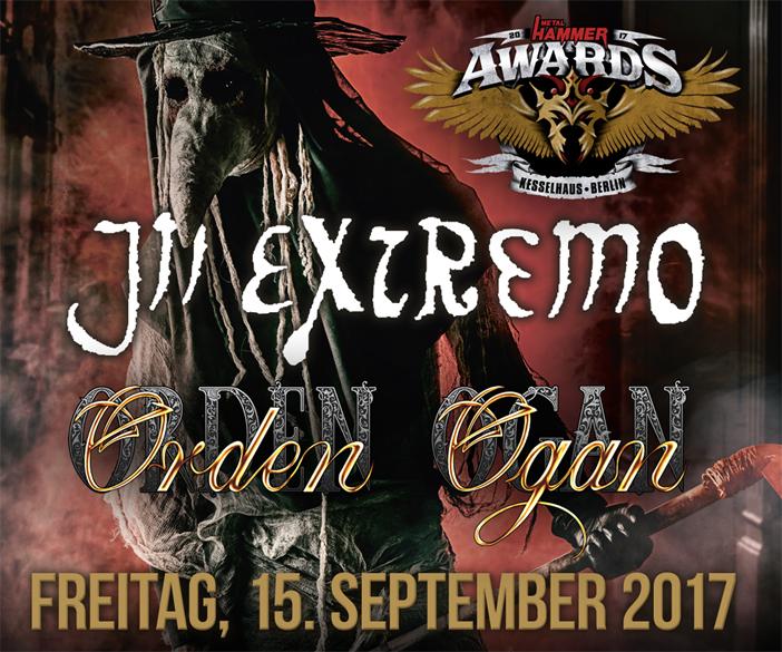 Metal Hammer Awards 2017 In Extremo Und Orden Ogan Im Kesselhaus