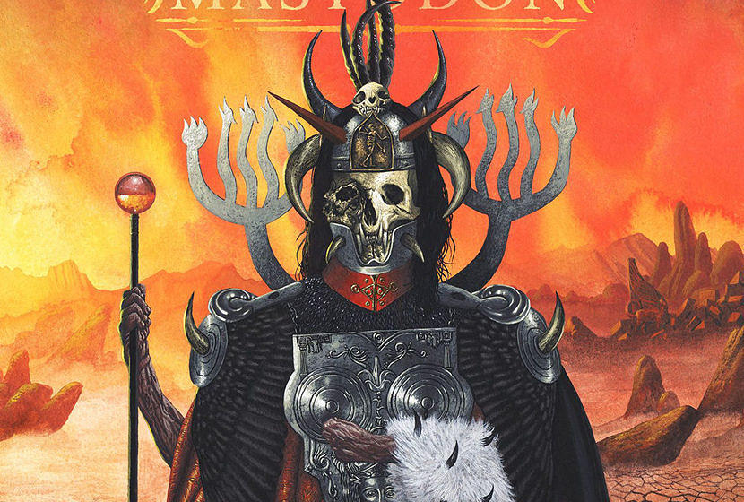 Platz 2: Mastodon EMPEROR OF SAND // 46 Punkte
