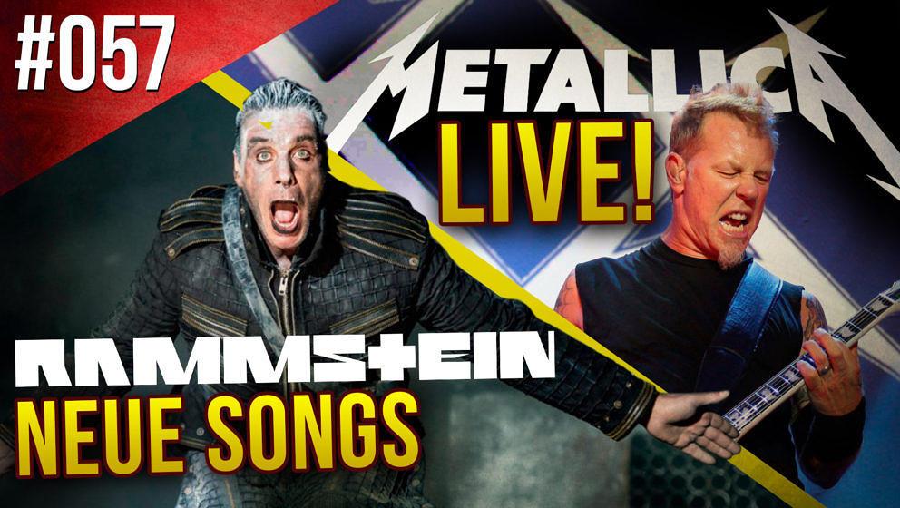 METAL HAMMER WEEKLY WARFARE #057 mit Metallica und Rammstein