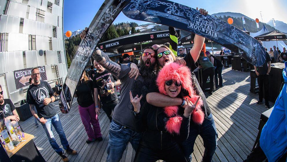 Ausgelassene Stimmung beim Full Metal Mountain 2017