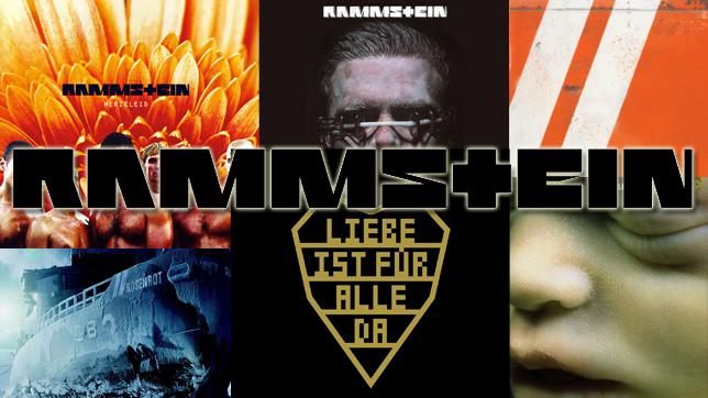 Rammstein Ranglisten-Header