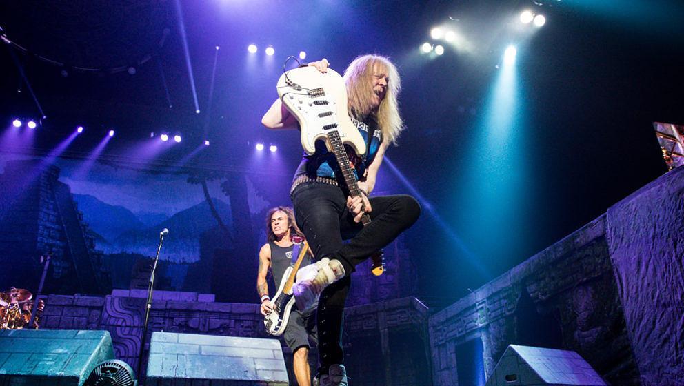 Iron Maiden in Oberhausen am 24.04.17