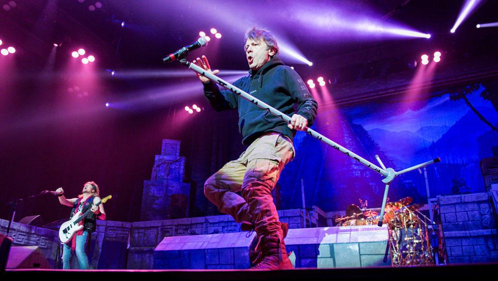 Im Pit bei: Iron Maiden in Oberhausen am 24.04.17