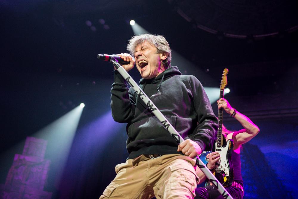 Iron Maiden und Saxon: Tour-Rider von 1983...