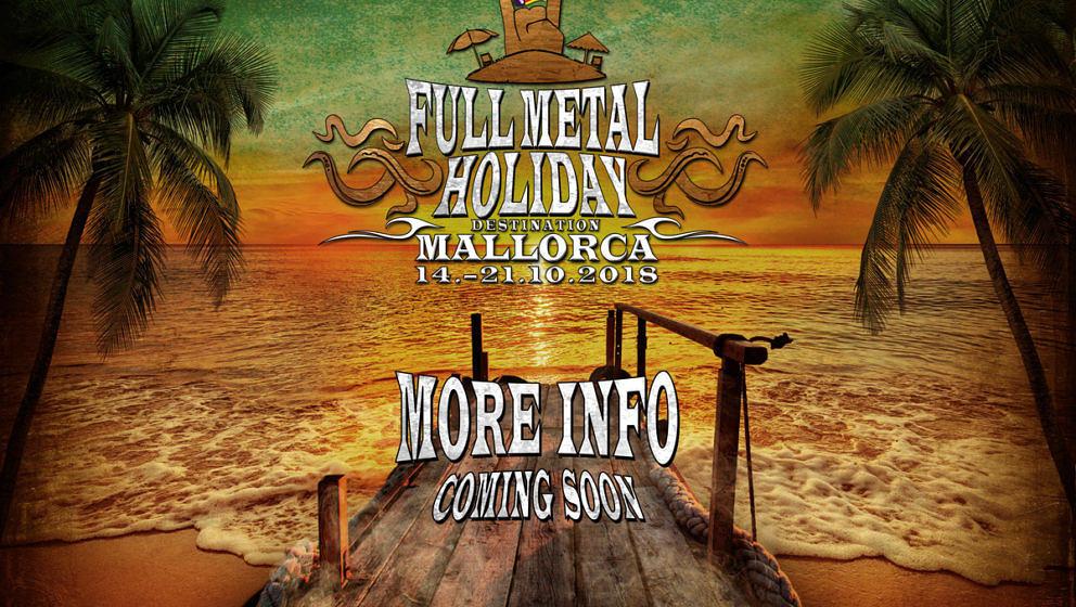 """Vom 14. bis zum 21. Oktober 2018 feiert der Metal Einzug auf den Balearen bei der ersten Ausgabe von """"Full Metal Holiday – Destination Mallorca""""."""