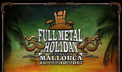 """Vom 15. bis zum 22. Oktober 2017 feiert der Metal Einzug auf den Balearen bei der ersten Ausgabe von """"Full Metal Holiday – Destination Mallorca""""."""