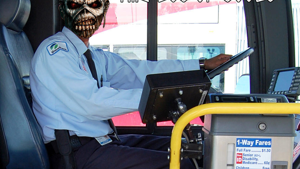 Iron Maiden THE BUS OF SOULS