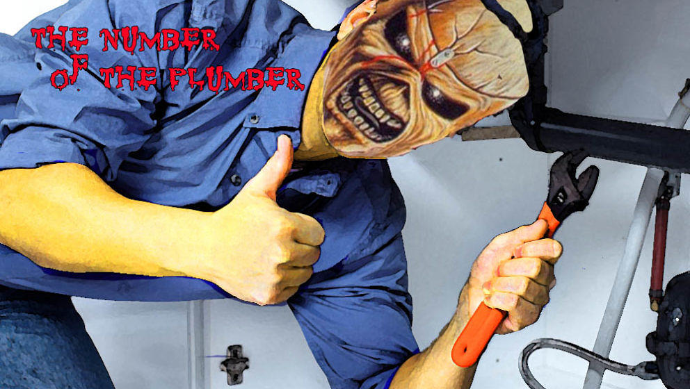 Iron Maiden THE NUMBER OF THE PLUMBER