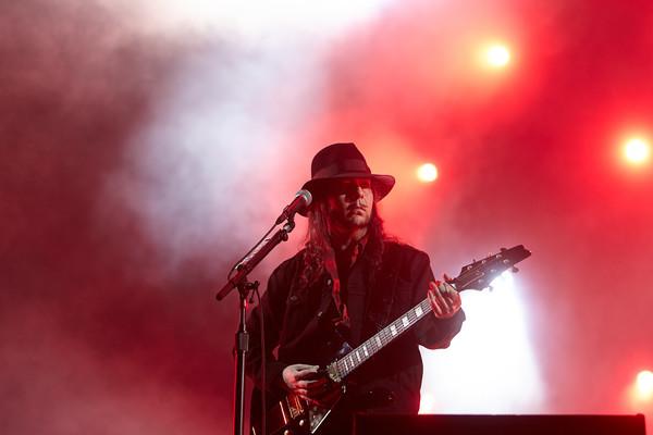Gitarrist Daron Malakian tritt am 04.06.2017 beim Musikfestival 'Rock am Ring' in Nürburg (Rheinland-Pfalz) mit der US-ameri