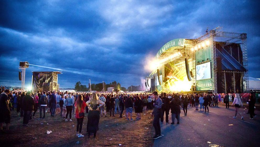 Bravalla Festival is a Swedish three-day music festival held annually at Bravalla flygfottilj outside of Norrkoping. Bravalla