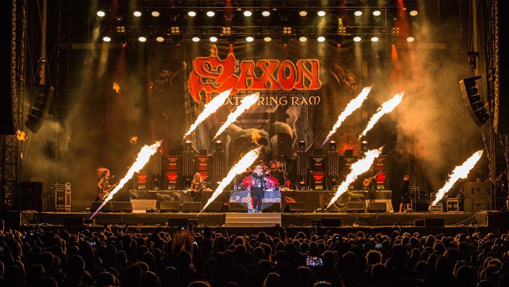 Saxon @ Bang your Head 2017, 13.7.2017