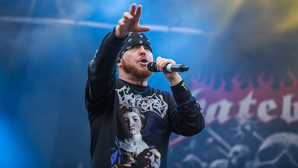 Hatebreed-Frontmann Jamey Jasta @ Summer Breeze 2017, 18.8.2017