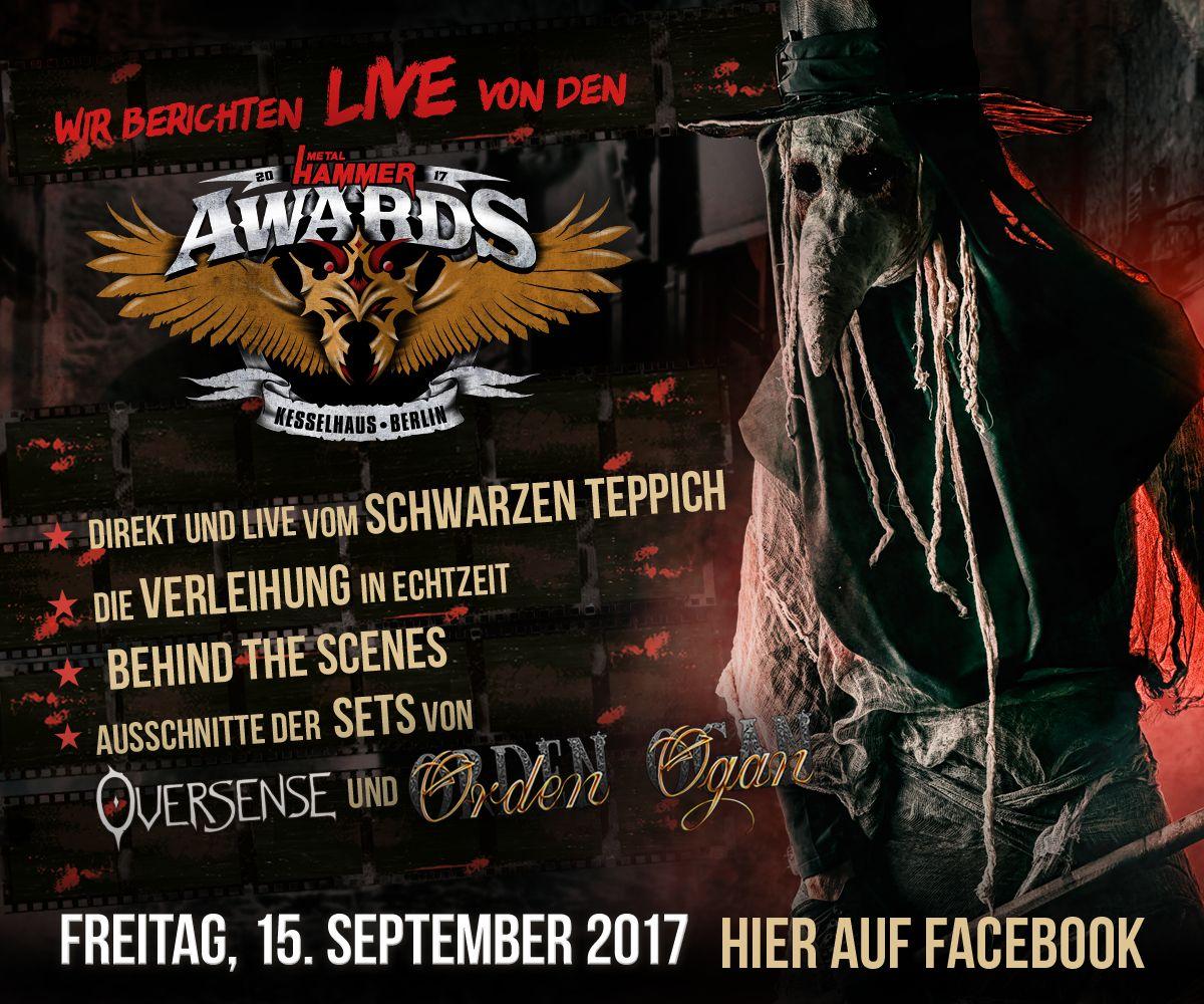 Metal Hammer Awards Seid Im Exklusiv Stream Live Dabei