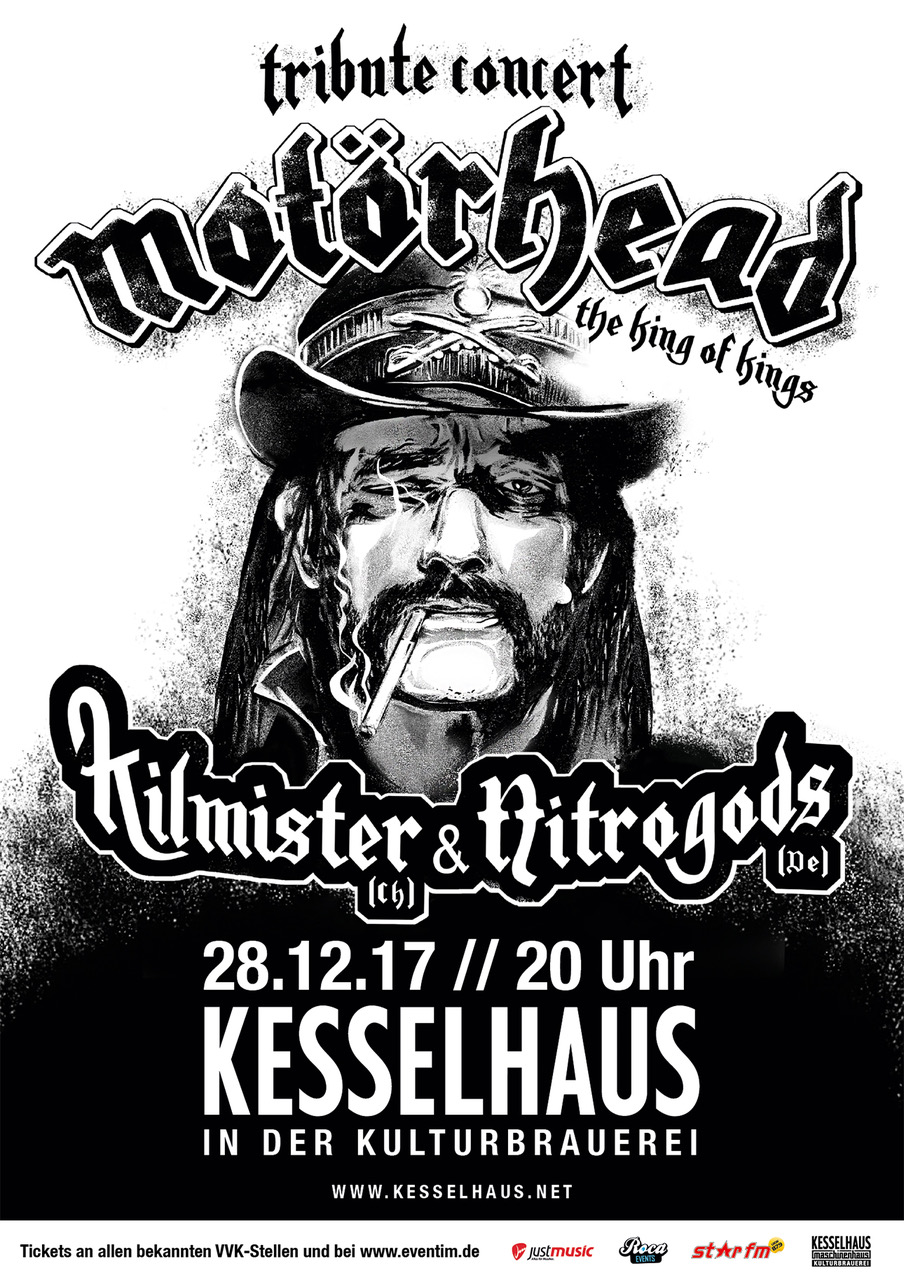 Motörhead Tribute Concert – The King Of Kings am 28 12 2017