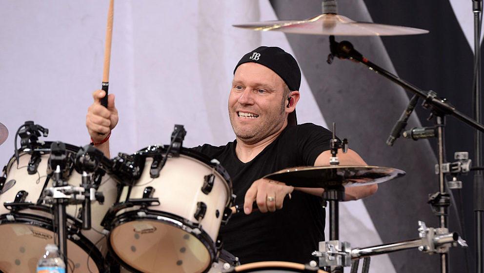 Der 'Neue' am Schlagzeug: Jason Bowld