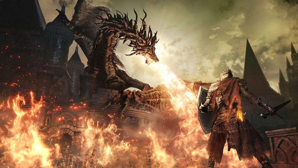 "Spielszene aus ""Dark Souls III"""