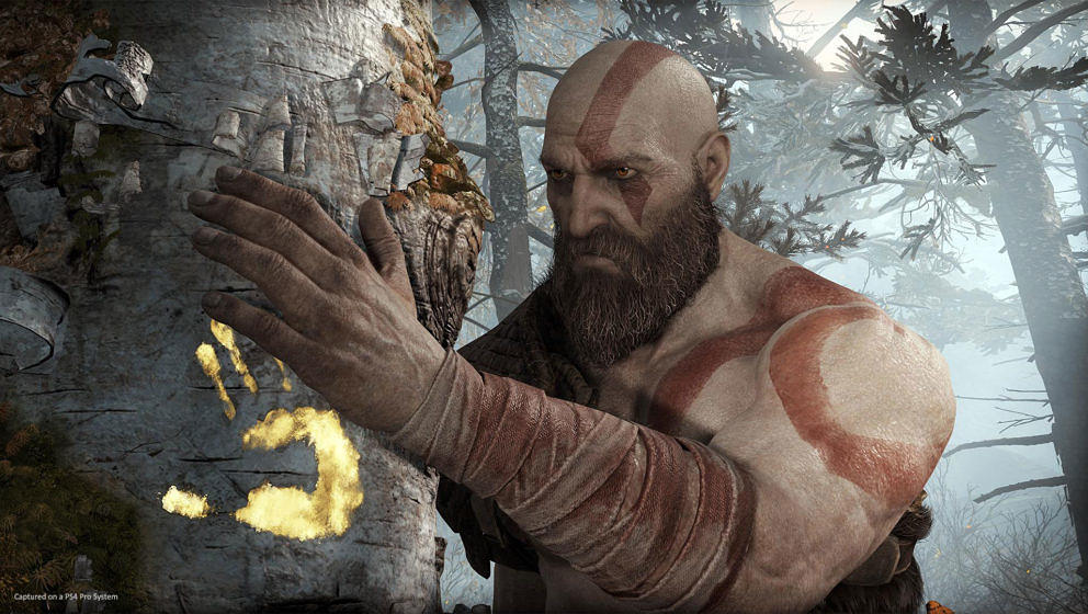 """God Of War"": Ein neues Video zeigt 15 Minuten Gameplay"