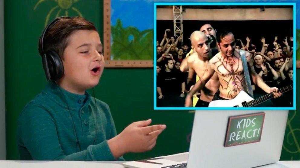 Kinder reagieren auf System Of A Down