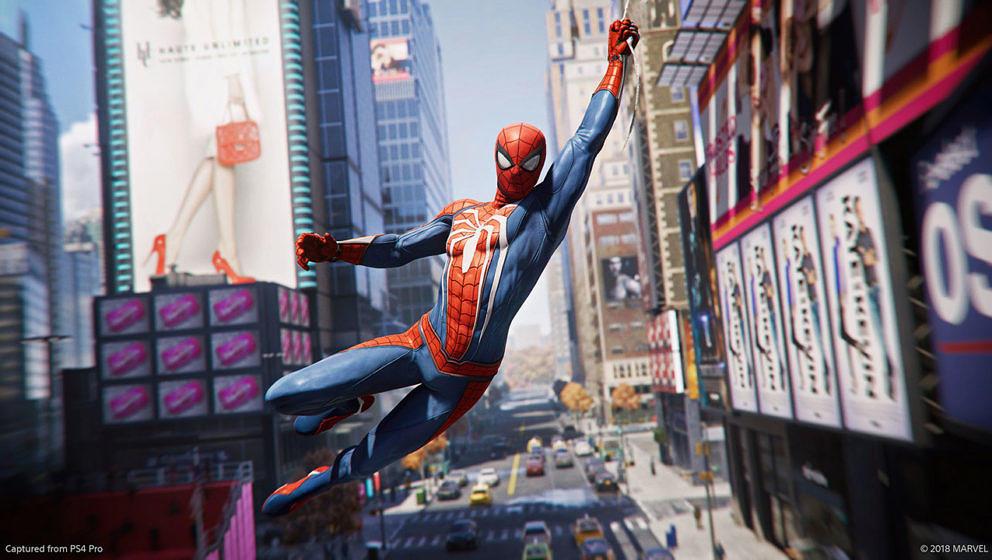 Spider-Man schwingt sich bald auf der PS4 durch New York City