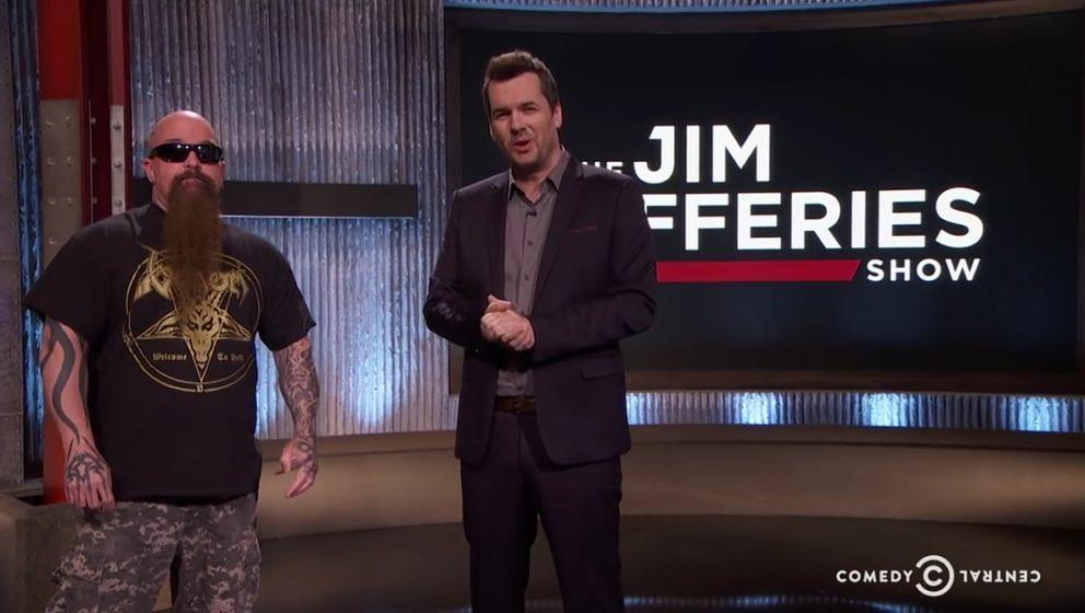 Kerry King zu Gast bei 'The Jim Jefferies Show'