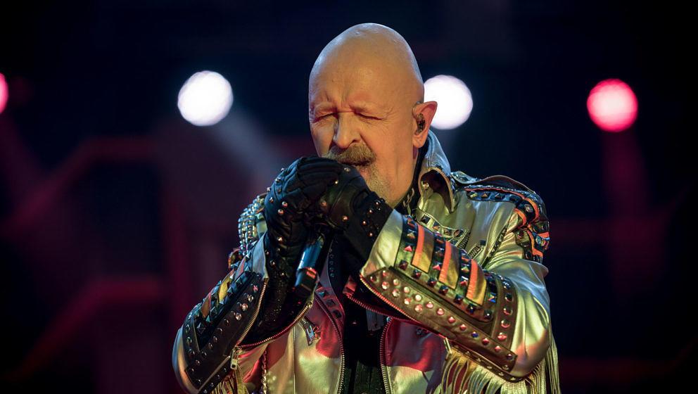 Judas Priest-Frontmann Rob Halford - Messe Freiburg 2018