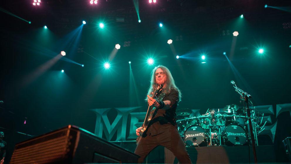Megadeth - Messe Freiburg 2018