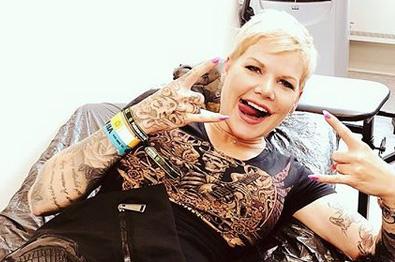 Melanie müller tattoo