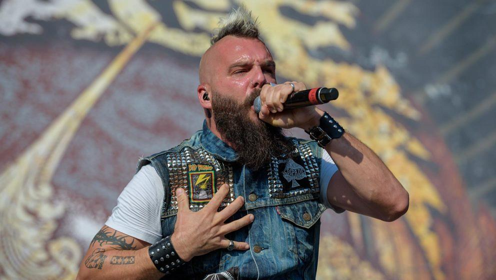 Killswitch Engage-Sänger Jesse Leach (Foto: Adrian Sailer)