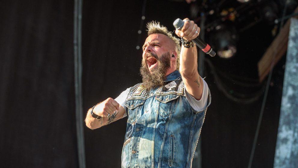 Killswitch Engage (hier Sänger Jesse Leach) sind für die Grammy Awards 2020 nominiert