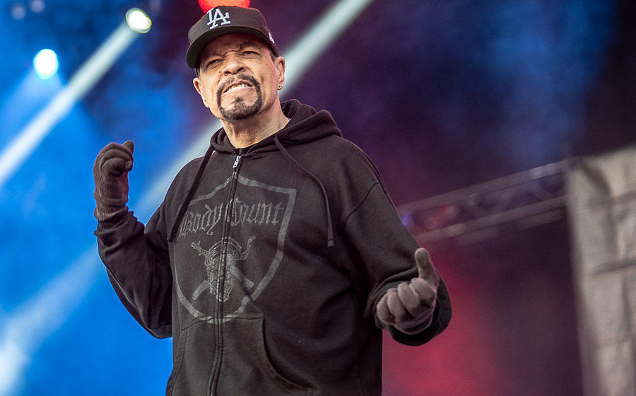 Grammy-Gewinner Ice-T mit Body Count beim Tuska Open Air 2018