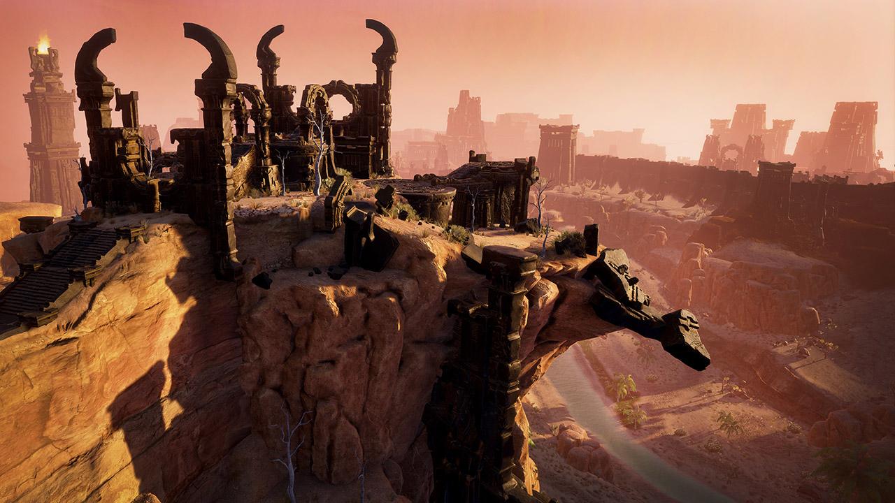 """Die Welt von """"Conan Exiles"""" ist wunderschön und detailverliebt"""