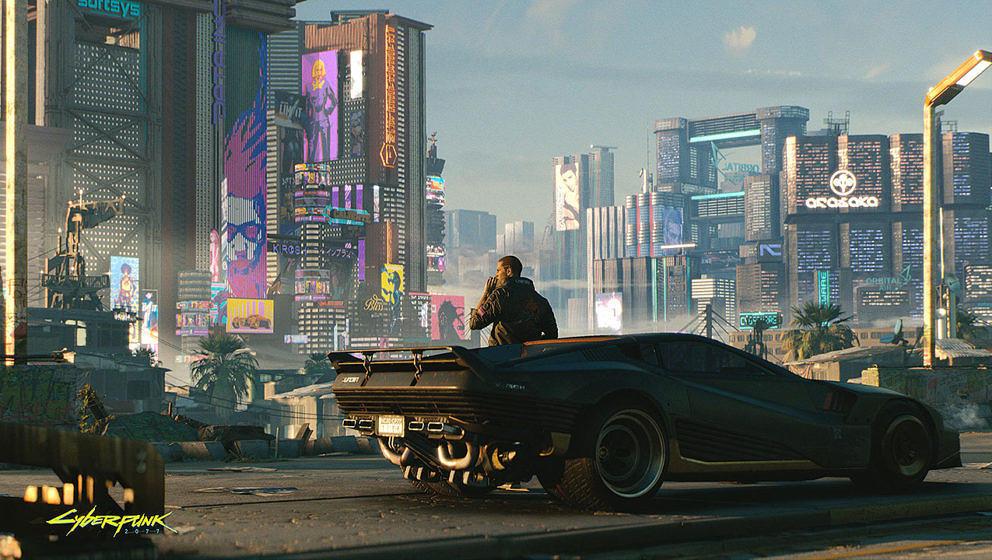 "Szene aus ""Cyberpunk 2077"""