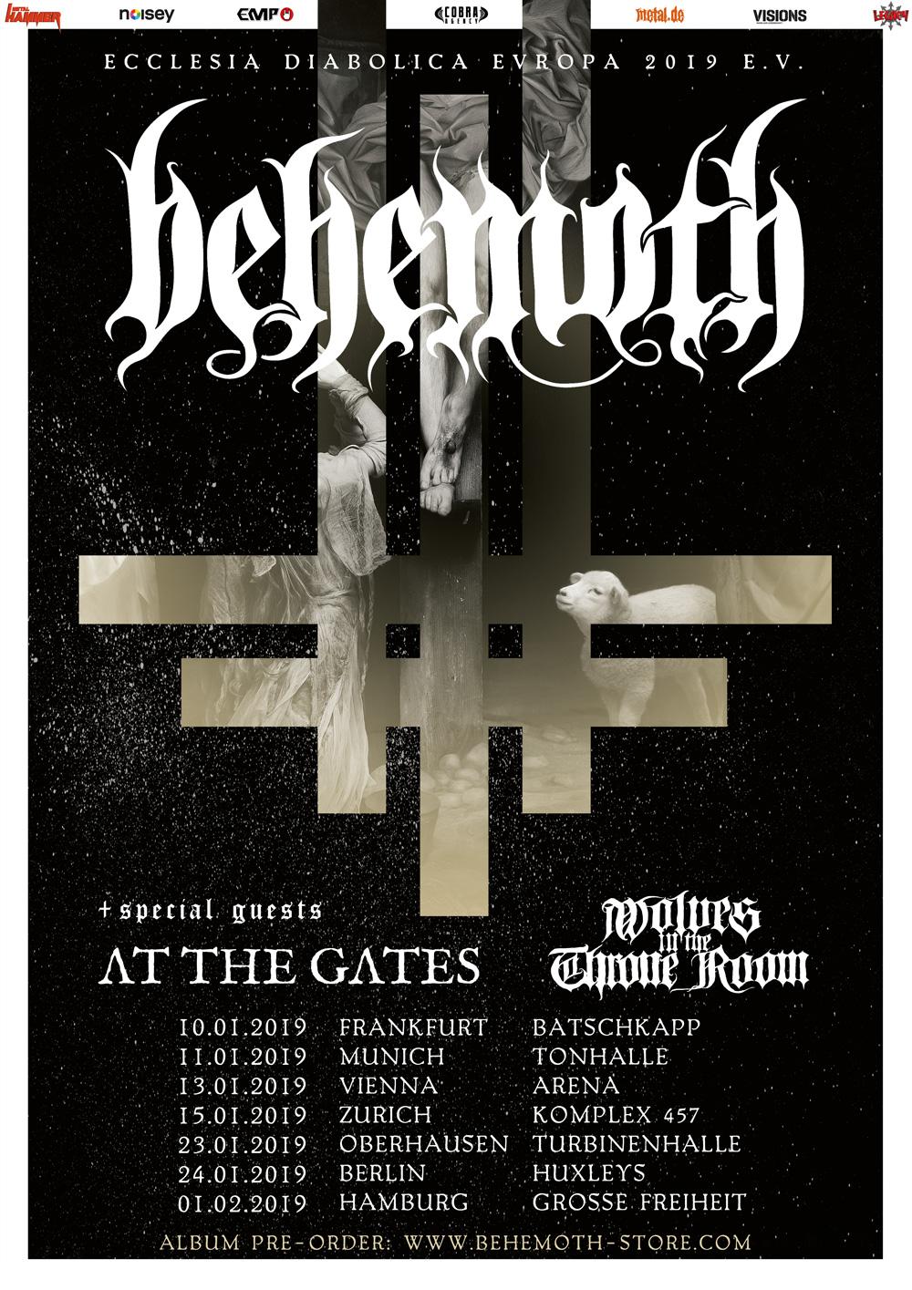Metal Hammer Prasentiert Behemoth At The Gates Wolves
