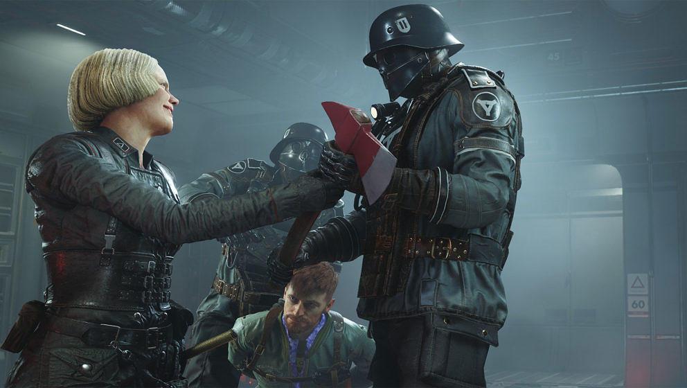 """In der deutschen Version von """"Wolfenstein II: The New Colossus"""" wurden unter anderem die Hakenkreuze entfernt"""