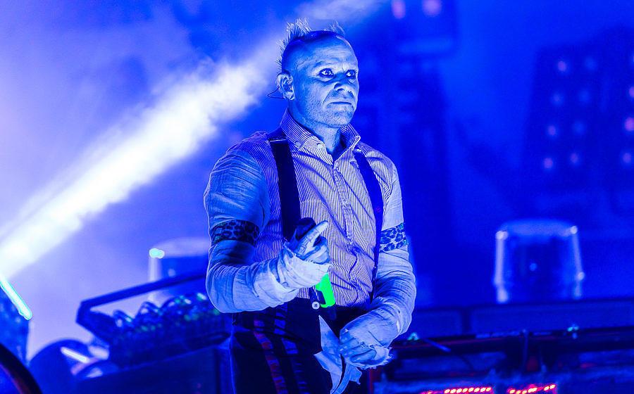 The Prodigy-Sänger Keith Flint beim M'era Luna 2018